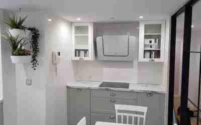 Una cocina con estilo